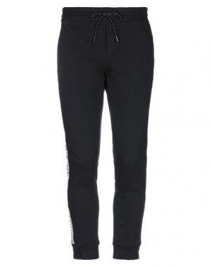 Повседневные брюки BIKKEMBERGS. Цвет: черный
