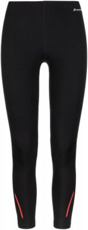 Тайтсы женские , размер 44 Demix. Цвет: черный