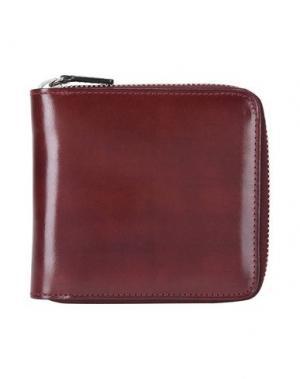 Бумажник IL BUSSETTO. Цвет: красно-коричневый