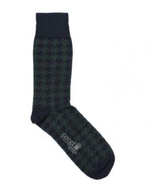 Короткие носки CORGI. Цвет: зеленый