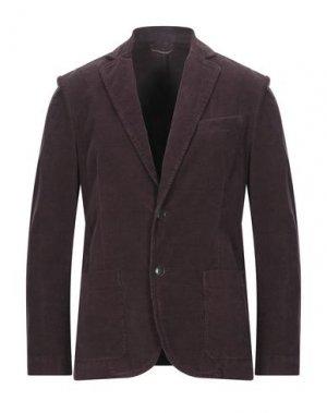 Пиджак BROOKSFIELD. Цвет: баклажанный