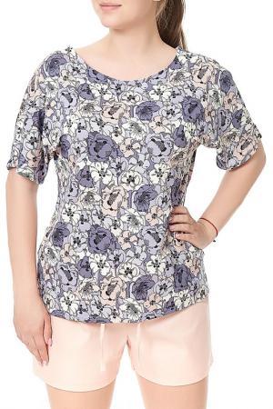 Комплект пижамный Mannon. Цвет: розово-сиреневый