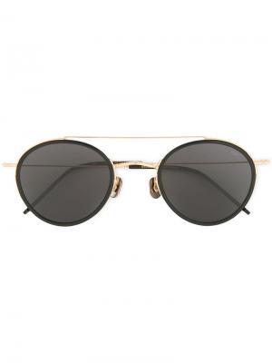 Round frame sunglasses Eyevan7285. Цвет: золотистый
