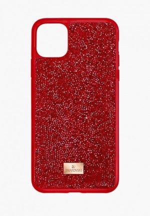 Чехол для iPhone Swarovski® 12 mini. Цвет: красный