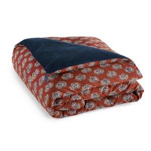 Одеяло LaRedoute. Цвет: оранжевый