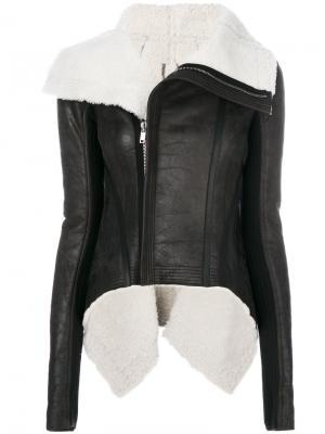 High low biker jacket Rick Owens. Цвет: чёрный