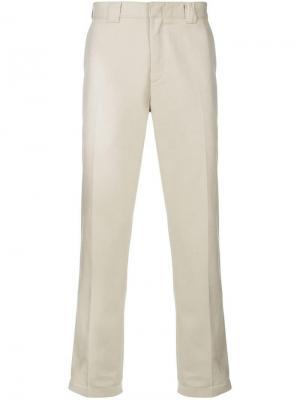 Классические брюки чинос Tommy Jeans. Цвет: бежевый