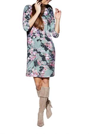 Платье Apart. Цвет: ментоловый, мультицвет