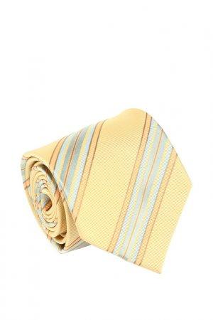 Галстук Basile. Цвет: желтый, светло-зеленый, светло