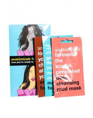 Набор масок для лица x 3-Бесцветный Anatomicals