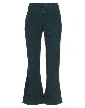 Повседневные брюки CITIZENS OF HUMANITY. Цвет: темно-зеленый