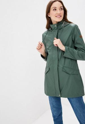 Куртка спортивная Roxy. Цвет: зеленый