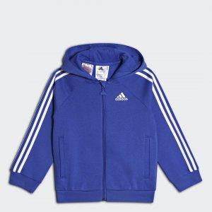 Толстовка Favourite Full Zip Athletics adidas. Цвет: белый