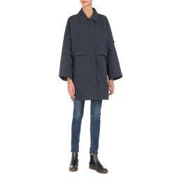 Пальто W0220K темно-синий GEOX