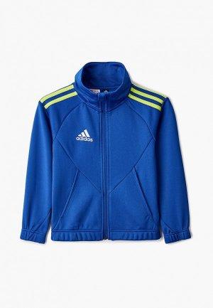 Олимпийка adidas. Цвет: синий