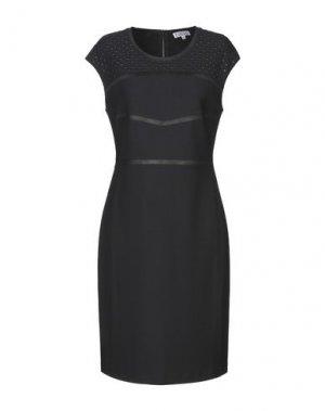 Короткое платье FUEGO WOMAN. Цвет: темно-синий