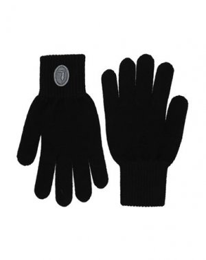 Перчатки TRUSSARDI JEANS. Цвет: черный