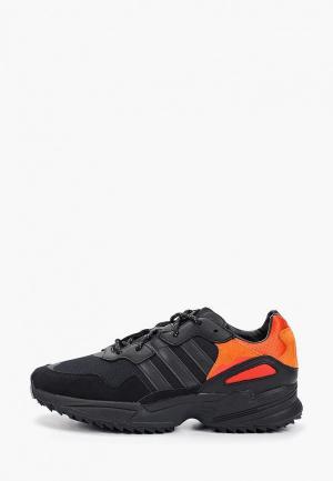 Кроссовки adidas Originals YUNG-96 TRAIL. Цвет: черный