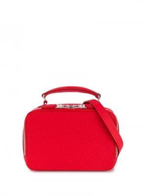 Структурированная поясная сумка Sonia Rykiel. Цвет: красный