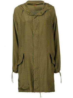 Пальто оверсайз с капюшоном A.F.Vandevorst