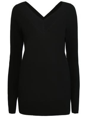 Кашемировый пуловер EQUIPMENT. Цвет: черный