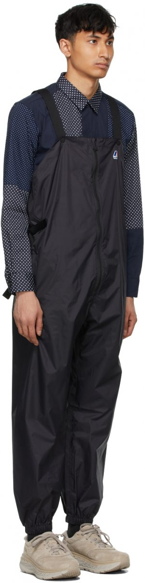 Black K-Way Edition Packable Perry 3.0 Overalls Engineered Garments. Цвет: black