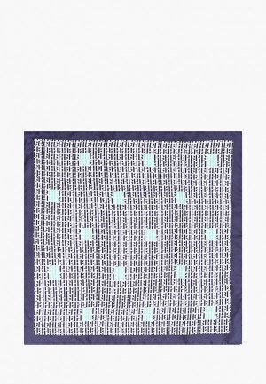 Платок Boss P.sq. cm33x33 rolled. Цвет: синий