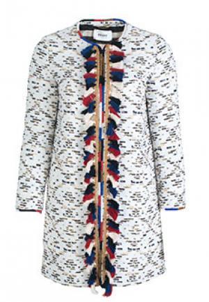 Куртка BAZAR DELUXE. Цвет: белый