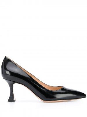 Лакированные туфли Gianvito Rossi. Цвет: черный
