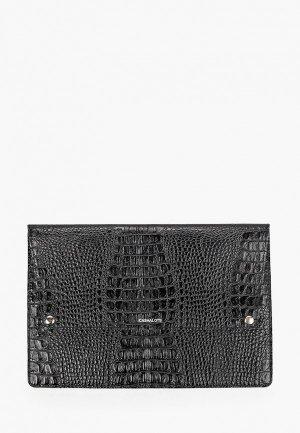 Обложка для документов Cashalots формат А4. Цвет: черный