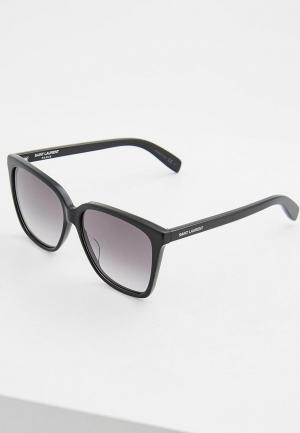 Очки солнцезащитные Saint Laurent SL 175001. Цвет: черный