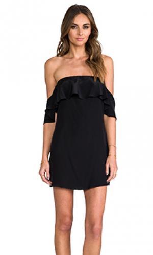 Платье emily Boulee. Цвет: черный