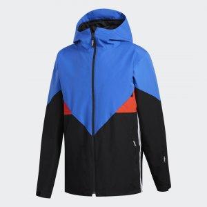 Сноубордическая куртка Premiere Riding Originals adidas. Цвет: красный
