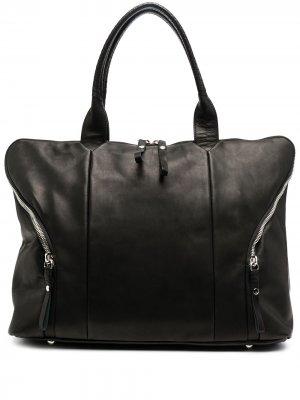Дорожная сумка на молнии Cornelian Taurus By Daisuke Iwanaga. Цвет: черный