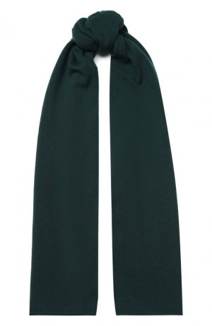 Кашемировый шарф Allude. Цвет: зелёный