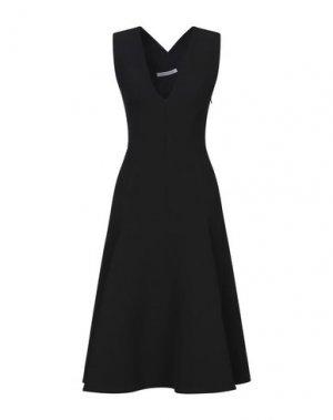 Платье длиной 3/4 CAMILLA AND MARC. Цвет: черный