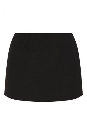 Мини-юбка Valentino. Цвет: черный