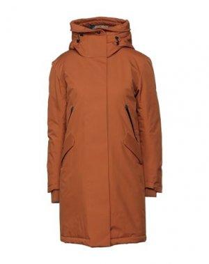 Пальто KRAKATAU. Цвет: ржаво-коричневый