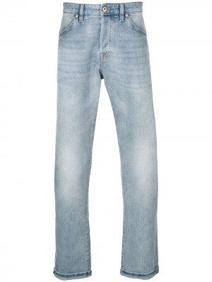 Расклешенные джинсы с низкой посадкой Pt05. Цвет: синий