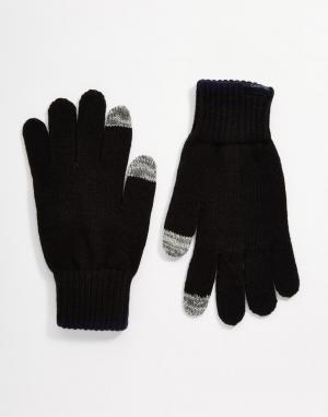 Перчатки Brad Calvin Klein. Цвет: черный