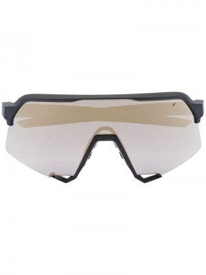 Солнцезащитные очки S3 100% Eyewear. Цвет: черный