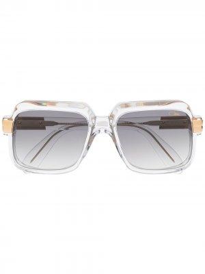 Солнцезащитные очки Legend в прямоугольной оправе Cazal. Цвет: нейтральные цвета