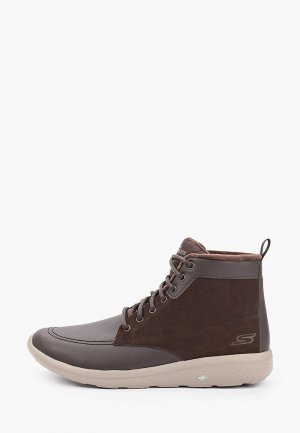 Ботинки Skechers On-The-Go City 2. Цвет: коричневый