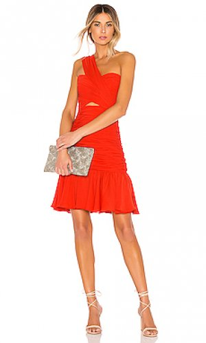 Платье JILL STUART. Цвет: красный