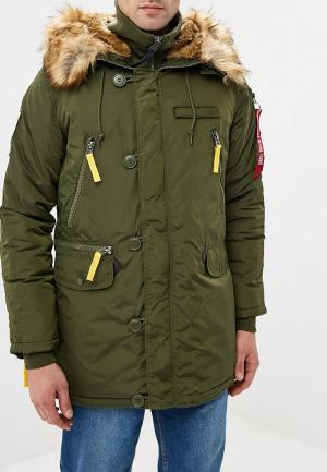 Парка Alpha Industries PPS N3B. Цвет: хаки