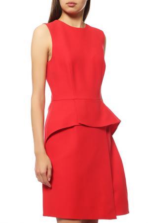 Платье Dior. Цвет: красный