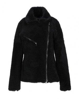 Пальто BLOUSON. Цвет: черный