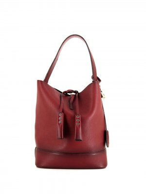 Сумка-ведро 2011-го года Louis Vuitton. Цвет: красный