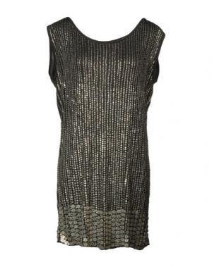 Короткое платье G-LISH. Цвет: черный
