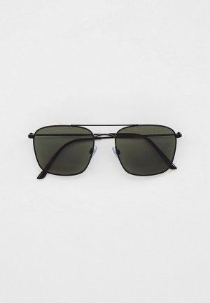 Очки солнцезащитные Giorgio Armani с поляризованными линзами, AR6080 30019A. Цвет: черный